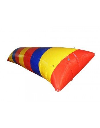 Almohada trampolín inflable 4 x 1 x 0,50 m