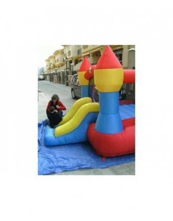 Happyhop Mini castelo inflável xl 3,65 * 2,65 * 2,15