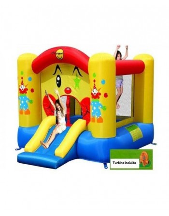 Castillo Hinchable Happy Hop Payasito 300 * 225 * 175